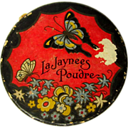 Vintage La Jaynees Poudre Complextion Powder Box by Rawleigh