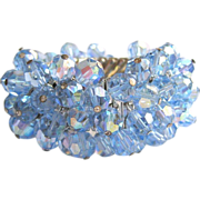 50's Crystal Bracelet, Cha Cha Expansion, Blue