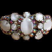 Juliana Clamper Bracelet & Earrings D & E Rhinestone