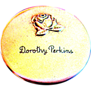 Vintage Rouge Compact, Dorothy Perkins, 40's