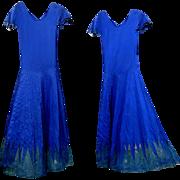 Silk Dress / Formal, 1920's 30's Vintage