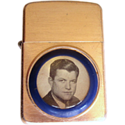 Ted Kennedy Cigarette Lighter, 1972 Presidential Campaign