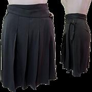 Designer Skirt / Kilt Vintage Pleated