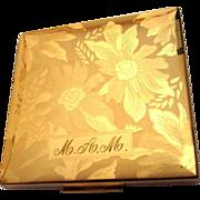 Elgin American Compact, Vintage Floral Beauty