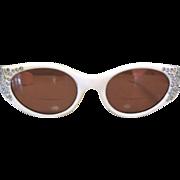 Vintage Rhinestone Frames, Italy 50's Sun Glasses