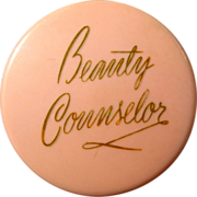 Vintage 40's Face Powder, Beauty Counselor