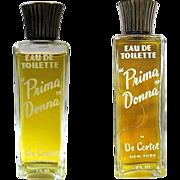 """""""Prima Donna"""" Perfume Bottle, De Cortot, Vintage 50's"""
