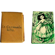Vintage Playing Cards, Miniature Deck, St. Germain, WI