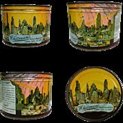 Whitman's 1940's Tin, Chocolates, Land, Air & Sea, WWII
