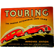 SOLD Touring Card Game, 1937, Box & Instructions