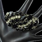 Juliana Rhinestone Bracelet, Vintage D & E