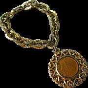 1901 Indian Head Penny Bracelet