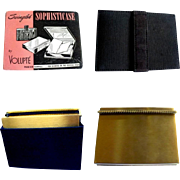 Volupte Compact Dance Purse, 1940's Carry All