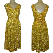 Vintage Sequined Dress, 1940's '50's Jitterbug