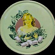 Vintage Candy Tin, Sparkling Mint Puffs