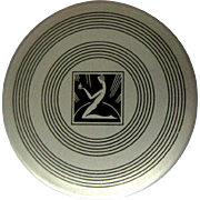 Vintage Powder Tin, Art Deco Hudnut Marvelous