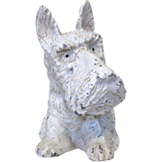 Scottie Dog Still Bank, Vintage 1920's