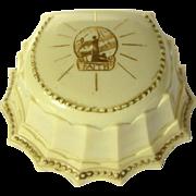 Celluloid Ring Box, Vintage 1920's Faith