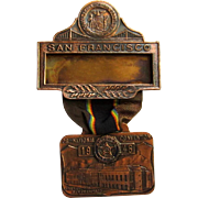 American Legion Medal 1946 San Francisco Delegate, National Convention