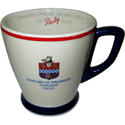 Chicago World's Fair Coffee Cup by Bauscher China for Stewarts Coffee