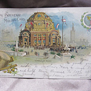 SALE 1901 Official Souvenir Postcard