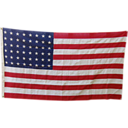 Vintage Pioneer Grade US Flag 48 Star by Valley Forge Co.