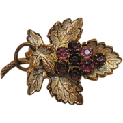 Matchless Vintage Grape Pin