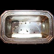 Art Deco Tiffany & Co. Nut Dish In Sterling Silver Circa 1930's