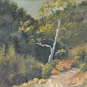 Nice Oil on Board Landscape, Unsigned