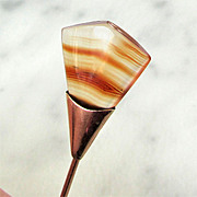 Banded Agate Stick Pin