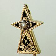SALE Star Stick Pin in 14K Gold