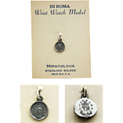 SALE Miraculous Wrist Watch Medal in Sterling Silver - DI ROMA