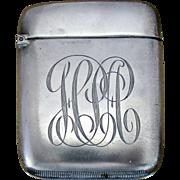 REDUCED Antique Sterling Silver Match Safe / Vesta