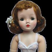 "SOLD Madame Alexander Auburn 1950's Cissy Doll 20"""