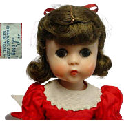 """Madame Alexander Lissy 11"""" 1950's Doll Tagged Outfit"""