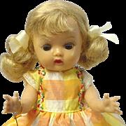 Nancy Ann Storybook Blonde Muffie Tagged Dress