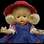 Nancy Ann Storybook Blonde Muffie #606 Dress BEAUTY
