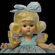 VOGUE Ginny Blonde Flip PLW Doll 1954 Kinder Crowd MINTY