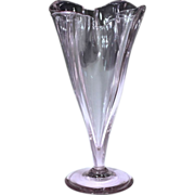 Spectacular Signed Circa 1920 Frederick Carder Era Steuben Wisteria Glass Vase