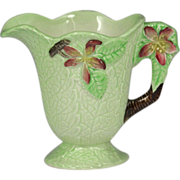 Cheerful Vintage Carlton Ware Cream Jug Apple Blossom Pattern