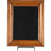 Circa 1840 Birds Eye Maple Framed Mirror