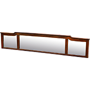 Inlaid Mahogany Sideboard Mirror Top