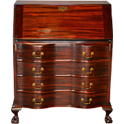 SALE Vintage Mahogany Governor Winthrop Desk