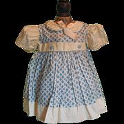 SOLD Nice Factory Made Vintage Dress