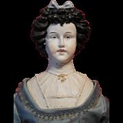 Limbach Bisque Irish Queen China Shoulder Head