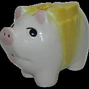SALE Cute Vintage Piggy Bank Without a Stopper