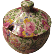 Royal Winton Summertime Sugar Bowl with Lid England