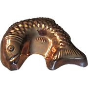 Benjamin Medwin Copper Fish Mold