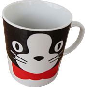 Cat Coffee Mug by Albert Kessler & Co. Japan
