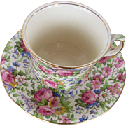 Summertime by Royal Winton England Cup and Saucer